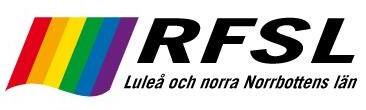 RFSL Luleå och norra Norrbottens län - logga
